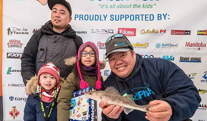 4th annual KidFish Ice Fishing Derby