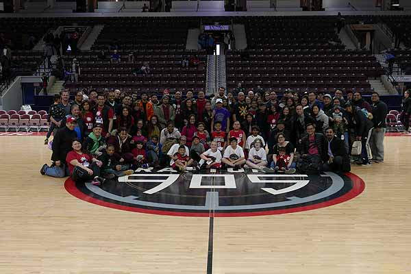 RISE Tribe Presentes Filipino Heritage Game with Raptors 905