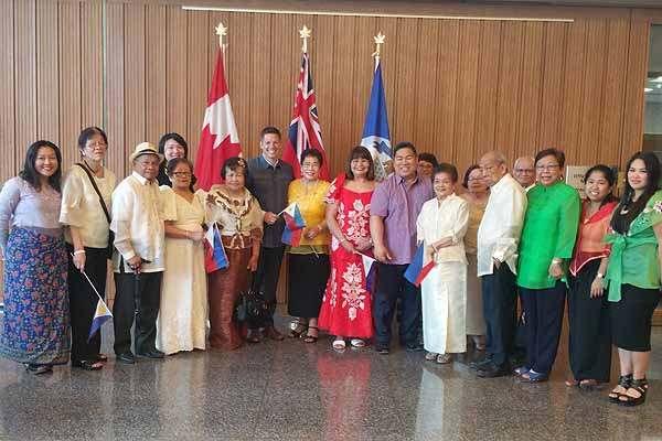 MCCFA together with Mayor Brian Bowman holds flag raising ceremony to celebrate the 120th Philippine Independence