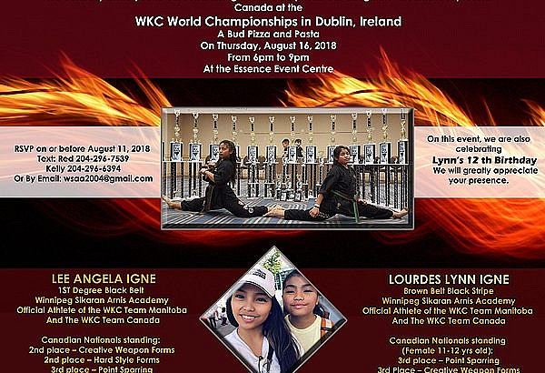 Our goal and dream…World Championships in Dublin, Ireland