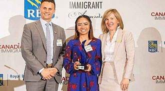 Loizza Aquino: How an immigrant youth is getting recognition for creating peace of mind