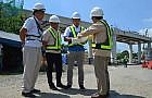 DPWH checks progress of C5 South Link Expressway Project