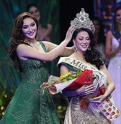 Vietnam wins first Miss Earth crown