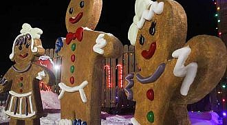 Canad Inns Winter Wonderland opens annual lights display