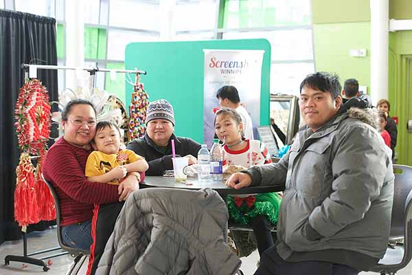 Paskong Pinoy celebrated with food and entertainment