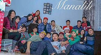 Nonie Manalili and Family Christmas Party