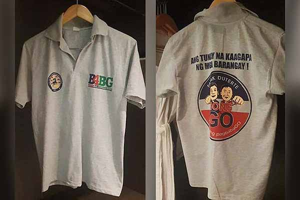 Otso Diretso bets cry foul over Bong Go shirts issue