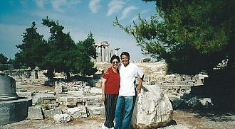 Ancient Meets Modern in Corinth, Greece