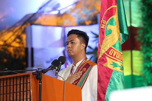 UPLB top student rallies fellow grads to serve the nation