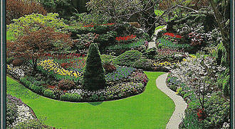 The Butchart Gardens, the Gardens of Five Seasons