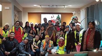 204 Neighbourhood Watch Revives Traditional Filipino Caroling, Supports Other Patrol Groups
