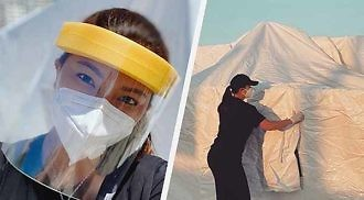 DOH denies forbidding Angel Locsin from donating misting tents