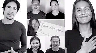 AKTOR – League of Filipino Actors releases video of support to front line workers