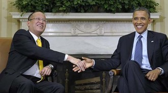 Aquino congratulates Obama