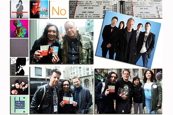 Meeting the New Wave Band New Order in Toronto