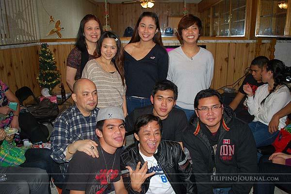 Lucky Filipino Christmas Party