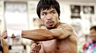 Pacquiao says he's in the peak of health as WBC president prays for his safety