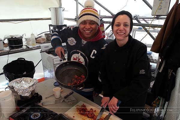 Culinary romance on the Assiniboine