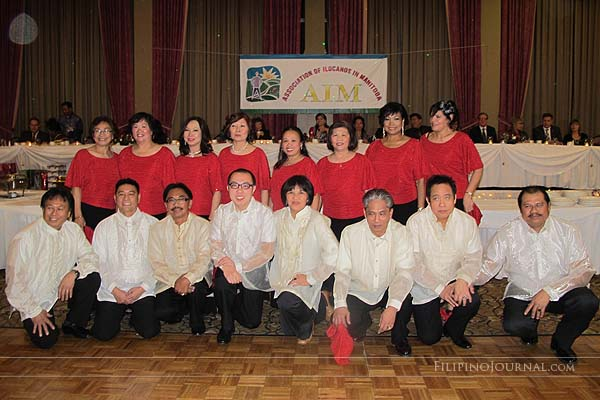 Association of Ilocano of Manitoba (AIM) celebrates Christmas with elan