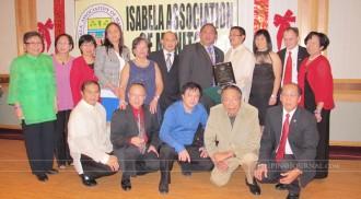 Ambassador Gatan graces the Isabela Association of Manitoba party