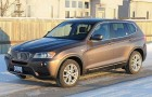 Winter driving fun in the 2013 BMW X3