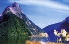 Cruising the Fiordland of New Zealand