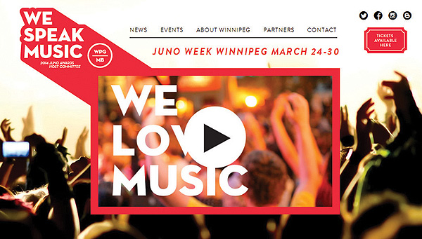 The Junos are coming! Get ready to party Winnipeg!