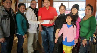 More cash donations received by MaCCFA for the Haiyan typhoon victims and endorsed the amount to the Red Cross