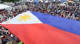 Philippine Super Flag Selfie