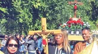 "Bicol Association of Manitoba celebrates ""Our Lady of Peñafrancia""  annual fiesta at Kildonan Park"