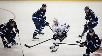 Royal Flush: Jets Beat Kings 5-3 in Home Opener