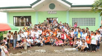 Charitable mission: person to person; and face to face with the less fortunate kababayans