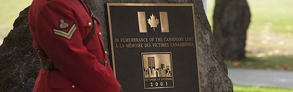 Anniversary of 9/11 and Canada's National Day of Service