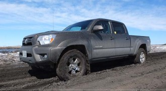 Mud Hunting in the 2013 Toyota Tacoma 4×4