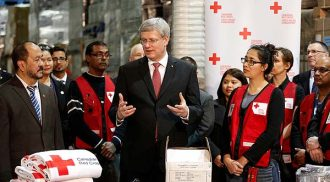 Canadians gave generously! $85million toward Typhoon Haiyan federal matching fund