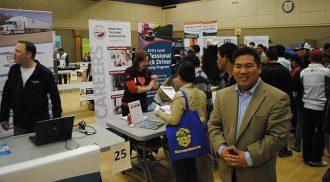Pagtakhan career fair draws big crowds of job seekers
