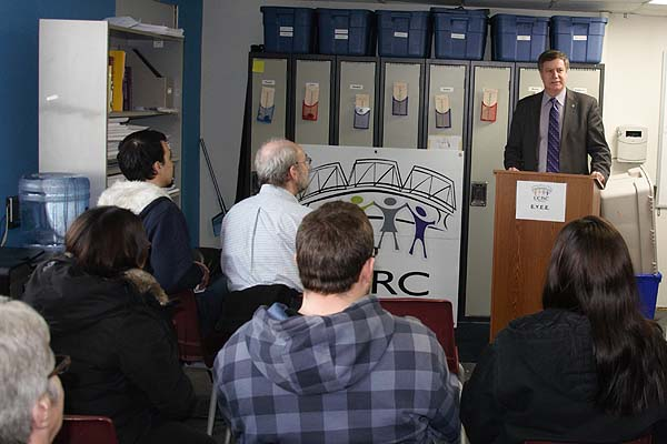 Lawrence Toet, MP (Elmwood – Transcona) announces Government investment to help youth in Elmwood get jobs