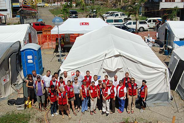 Canadian Red Cross on the ground in the Philippines