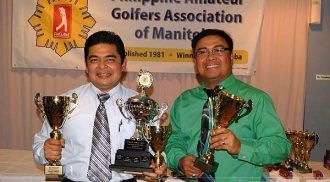 Philippine Amateur Golf Association of Manitoba (PAGAM) 2014 Golf Tournament