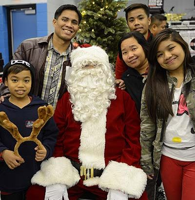 First Christmas for the new immigrants: a defining moment to wish the best of the season!