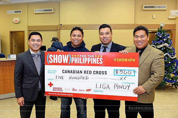 Liga Pinoy charity donations