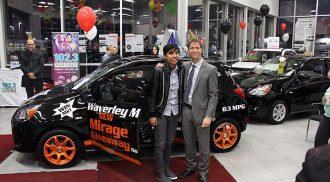 Waverley Mitsibuishi 2014 Mirage Giveaway
