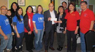 Successful fund raising breakfast at Canton Food Gallery
