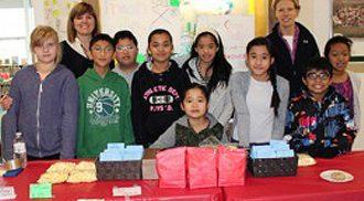 Ecole Victoria-Albert School raised $430.00 for the Philippines