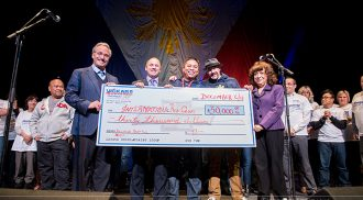 Big Cheque Excitement supporting (SHOW) for the Philippines