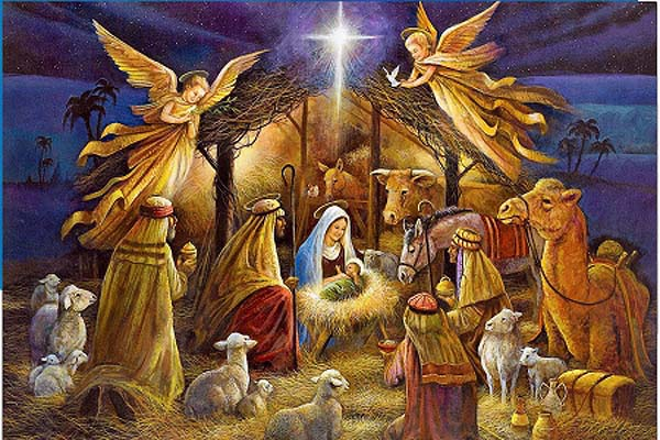 Christ is in Christmas, a celebration of Hope, Love, Peace and Joy