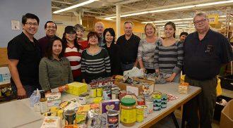 St. Gianna Helping Winnipeg Harvest