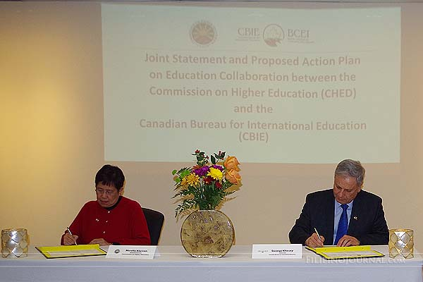 CHED expands Education cooperation with Canada, signs Joint Statement and Action Plan