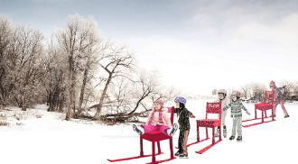 Warming Huts v.2015  An Art + Architecture Competition on Ice  Pushing the Art Envelope