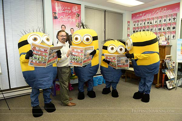 Minions set to paint the city yellow!